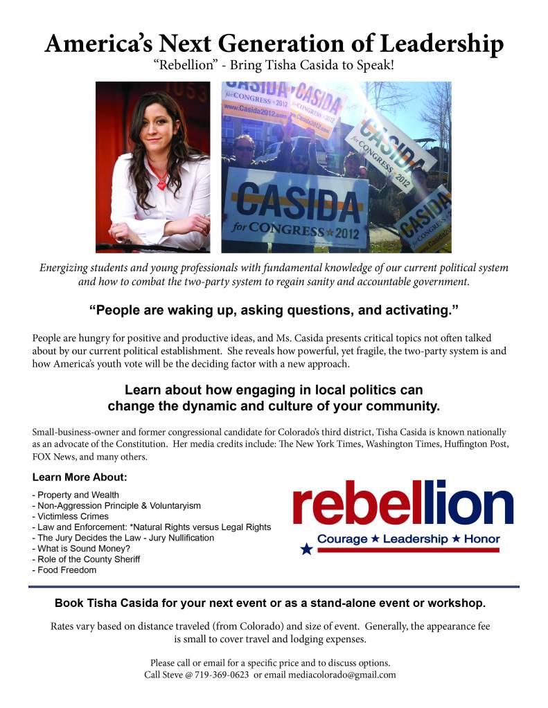 Tisha Casida Speaking Promo
