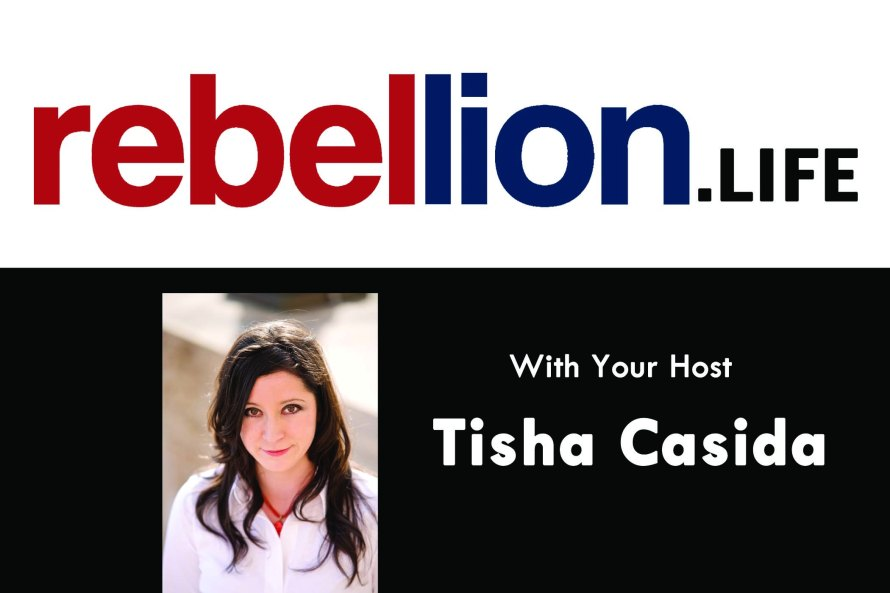 Rebellion Life Logo with Tisha Pic 1